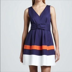 Kate Spade belted Sawyer cocktail dress
